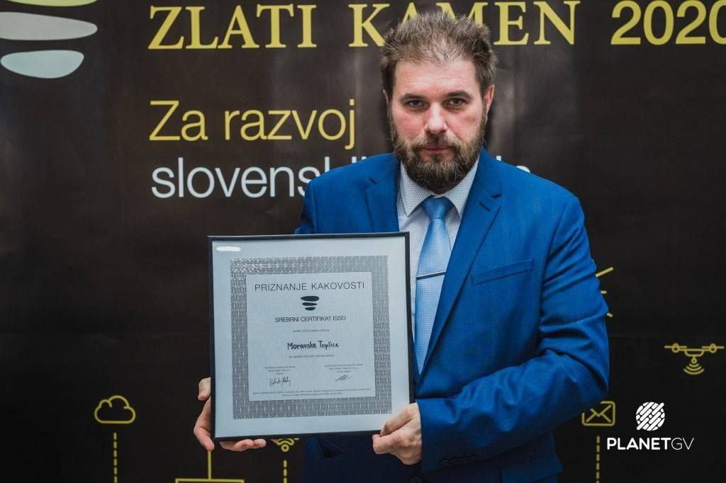 Srebrni certifikat ISSO