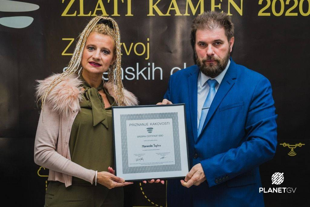Srebrni certifikat ISSO - ZLATI KAMEN 2020