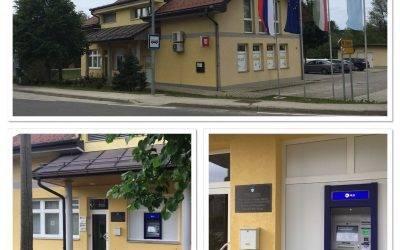 OBVESTILO o delovanju bankomata in odprtju krajevnega urada Prosenjakovci
