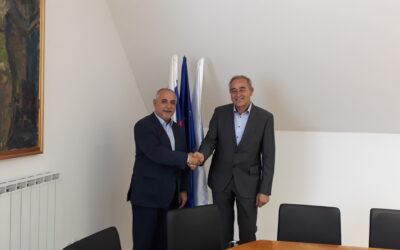 Obisk generalnega konzula Madžarske v Lendavi dr. Gyule Földesa