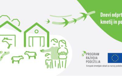 Dnevih odprtih vrat slovenskih kmetij in podeželskih projektov
